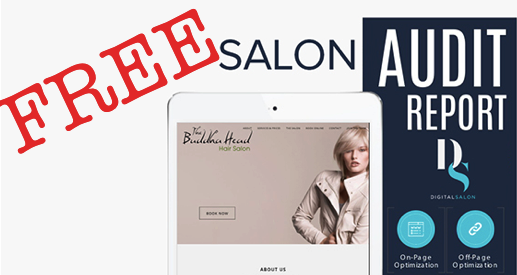 Free Salon Audit Report - Power Up Your Salon By Taking Your Salon Online