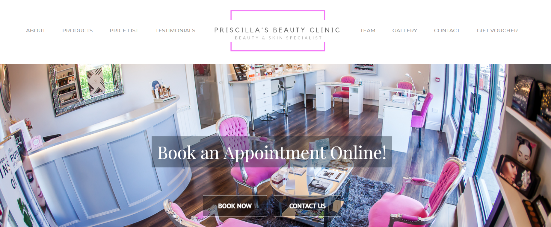 Learn 5 benefits of creating a low-cost website for your Salon.